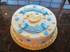 Cakes for Baby – Baby Welcome Cakes Surprise Birth