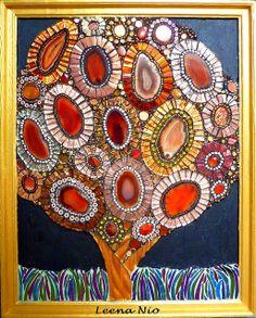 'Agatha' mosaic ~ Leena Nio