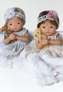 Handful of Miniature Baby Dolls - Best Friends Doll Set, 6 inch resin