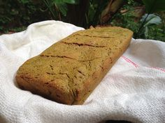 Pan sin gluten de cúrcuma y lino