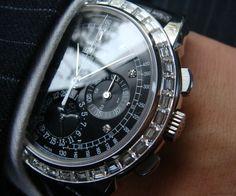 Fancy - Patek Phillipe Chronograph Manual Watch 5971P