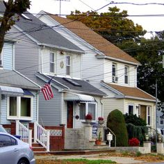 Houses in Ozone Park, Queens.