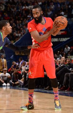 4c85d987b0a2 James Harden wearing Nike Zoom Crusader All-Star PE Houston Rockets  Players