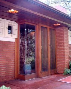 Zimmerman House. 1950 Manchester, New Hampshire. Usonian Style. Frank Lloyd Wright