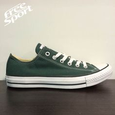 converse all star verde scuro