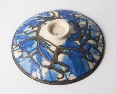 'In the Wild Wood ' series, stoneware bowl base #sarahsceramics