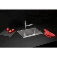 Elkay Signature Plus Dual Mount Stainless Steel 25x22x8 4-Hole Single Bowl Kitchen Sink-HD322425 at The Home Depot ($249)