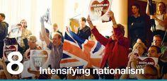 8. Intensifying nationalism
