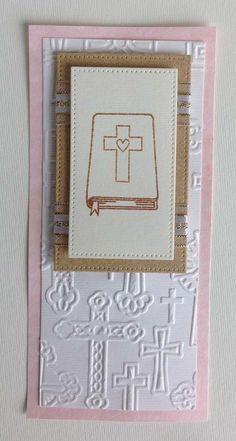 Mis Tarjetas para Primera Comunión - Claudia Rafaella Scrapbook & Cards Baby Shower, Frame, Tarjetas Diy, Ideas Fáciles, Home Decor, Album, Christening Card, Tutorials, Creativity