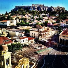 |Monastiraki Square| angie8gold's photo http://instagr.am/p/O2VAeUoqUr/