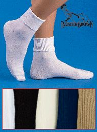 Buster Brown 100% Cotton Socks - 3 Pairs of Socks