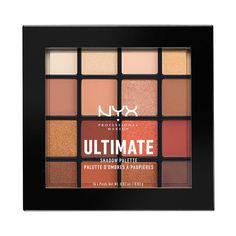 NYX Professional Makeup Warm Neutrals Ultimate Eyeshadow Palette ($17.99) http://www.ulta.com/warm-neutrals-ultimate-shadow-palette?productId=xlsImpprod13901019