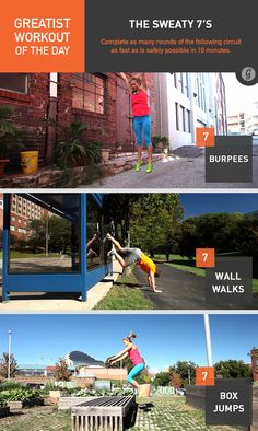 Greatist Workout of