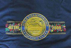 Hawaii Canoe Race State Championships 2000 HCRA T-shirt L New #HanesHeavyweight #TShirt