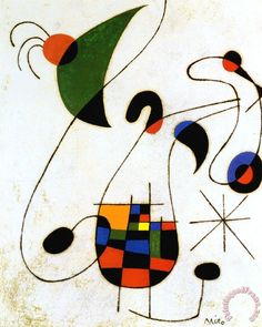 The Melancholic Singer Painting by Joan Miro