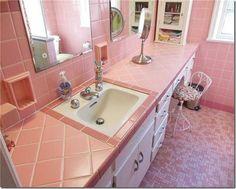 Mid-Century Modern Bathrooms-Alive & Well!