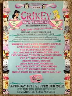 Crikey it's vintage 15th sept thistle hotel Exeter