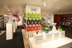 Joseph Joseph pop up shop by Dan Hearn, Munich, Germany