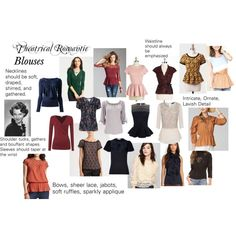 Theatrical Romantic Blouses by trueautumn on Polyvore featuring moda, St. John, O.SA, GUESS, Alex Evenings, Urban Renewal, Ann Taylor, Tokyo Fashion, LOFT and Ralph Lauren Blue Label