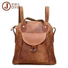 Genuine Leather Vintage Brown Shoulder Bag