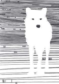 wolf Art Print by katiwo | Society6