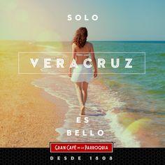 Es la gente, la belleza, el mar, la música, la comida, el café... ¡Todo esto y más nos hace sentirnos orgullosos de Veracruz!