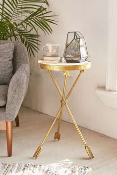 Arrow Side Table - Urban Outfitters #UOonCampus #UOContest