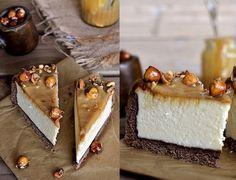 Tvarohový koláč s kondenzovaným mliekom a orechami