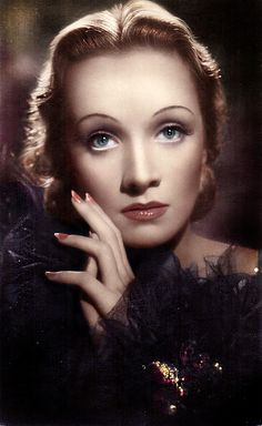 """Marlene Dietrich. There's a reason it is considered """" The Golden Age"""" of Hollywood. They just don't make real """"stars"""" anymore.  :::le sigh:::"""