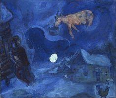 "Andrew Hill Twitter'da: """"Dans Mon Pays"" by Marc #Chagall found via @DailyArtApp #art #loveart https://t.co/BtAL6ECJd8 https://t.co/06g8HLjFkA"""
