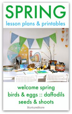Combine loose parts and play dough for a wonderful easter-themed invitation to play and create making loose-parts Easter eggs.  Loose parts Easter egg decorating station   Click here for our complete Spring resources of lesson plans, activities and printables  This activity is part of my Spring Activities resources, which include an introduction …
