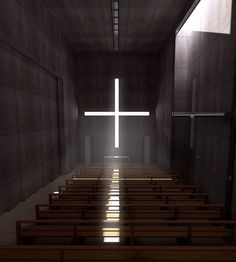 Church of light by Tadao Ando
