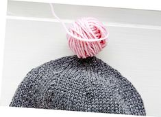 Kun kavennat pipon säteittäin, päälaesta tulee kauniin pyöreä. Knitted Hats, Crochet Hats, Winter Hats, Beanie, Knitting, Fashion, Knit Hats, Crocheted Hats, Moda