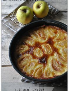 Flan aux pommes Gateau Cake, Pie Crumble, Apple Desserts, Petits Desserts, Apple Cakes, Crazy Cakes, Pastry Cake, Cooking Time, Fall Recipes