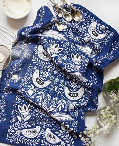 Gorgeous Folklore-Inspired Tea Towels from Mirdinara Kitchen — Store Profile | The Kitchn