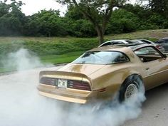 79 Trans Am Burn Out