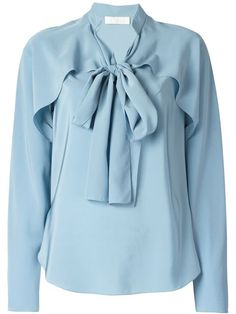 Shop Chloé bow detail shirt in Marion Heinrich from the world's best independent boutiques at farfetch.com. Over 1000 designers from 300 boutiques in one website.