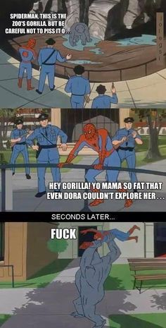 Spiderman humor