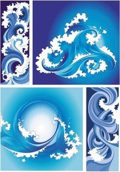 Free waves vector illustration in encapsulated postscript . Waves Vector, Waves Background, Backdrop Design, Eps Vector, Graphic Art, Backdrops, Artwork, Free, Wave Illustration