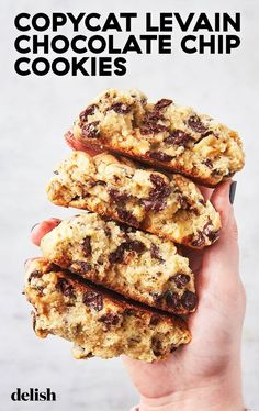 Mar 19, 2019 - We cracked the recipe for Levain Bakery's famous chocolate chip cookies on Delish.com.