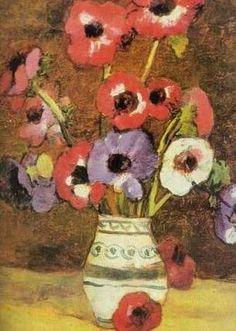 Anemone 1 - Stefan Luchian Art School, Art History, Art Gallery, Bun Bun, Painting Flowers, Romania, Heavenly, Boho, Photography
