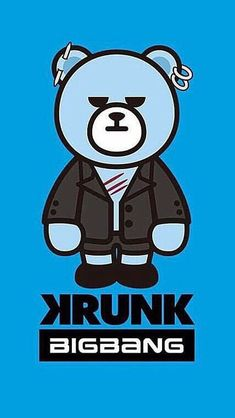 Bigbang Krunk, Bigbang Wallpapers, Seungri, Ikon, Fanart, Korea, Bear, Journal, Memes