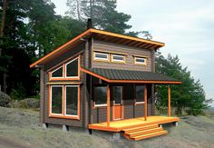 Head over to the web simply click the highlighted tab for additional selections sauna supplies Small Cottage House Plans, Tiny House Loft, Cottage Plan, Cottage Homes, Modern Small House Design, Small Modern Home, Modern Gazebo, Guest Cabin, Building A Shed