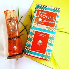 LANÇAMENTO! Colônia Mariny Summer,  para esse verão mara! Já estou apaixonada por esse perfume...😍🎭🎊🎉🎭 #blossonvillecosmeticos #blossonville #blosson #blossoncolônia #blossonmariny