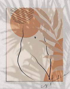 Abstract Neutral Line Art Print Female Nude Line Drawing Woman Body Printable line art Boho Decor Minimalist Poster Female Figure Olga Spenst Abstract Line Art, Abstract Print, Modern Abstract Art, Art Abstrait Ligne, Art Minimaliste, Minimal Art, Small Canvas Art, Simple Canvas Paintings, Minimalist Poster