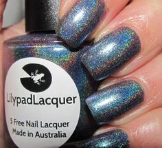 Lilypad Lacquer Teal Pearl