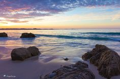 Sunset at Kirra Beach, Gold Coast, QLD