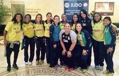 A equipe feminina será composta por Sarah Menezes (48kg), Érika Miranda (52kg), Rafaela Silva (57kg), Mariana Silva (63kg), Ketleyn Quadros (63kg), Maria Portela (70kg), Barbara Timo (70kg), Samanta Soares (78kg) e Rochele Nunes ( 78kg)
