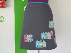 Miss City Girl Grey (Size S / 36) Skirt A-line