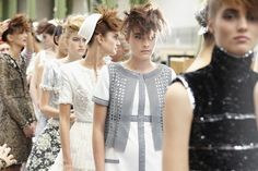 Chanel backstage 2014